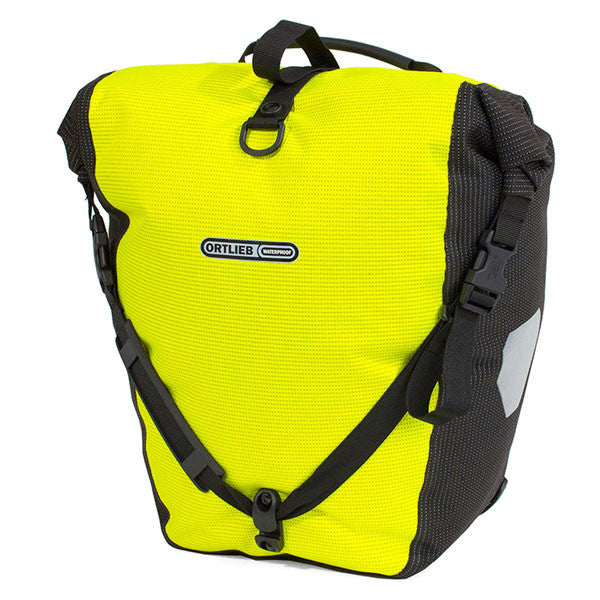 Ortlieb Back-Roller Hi Vis High Visibility Single Pannier HiVis