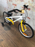 ByK E-350 Kids Bike Yellow Freewheel