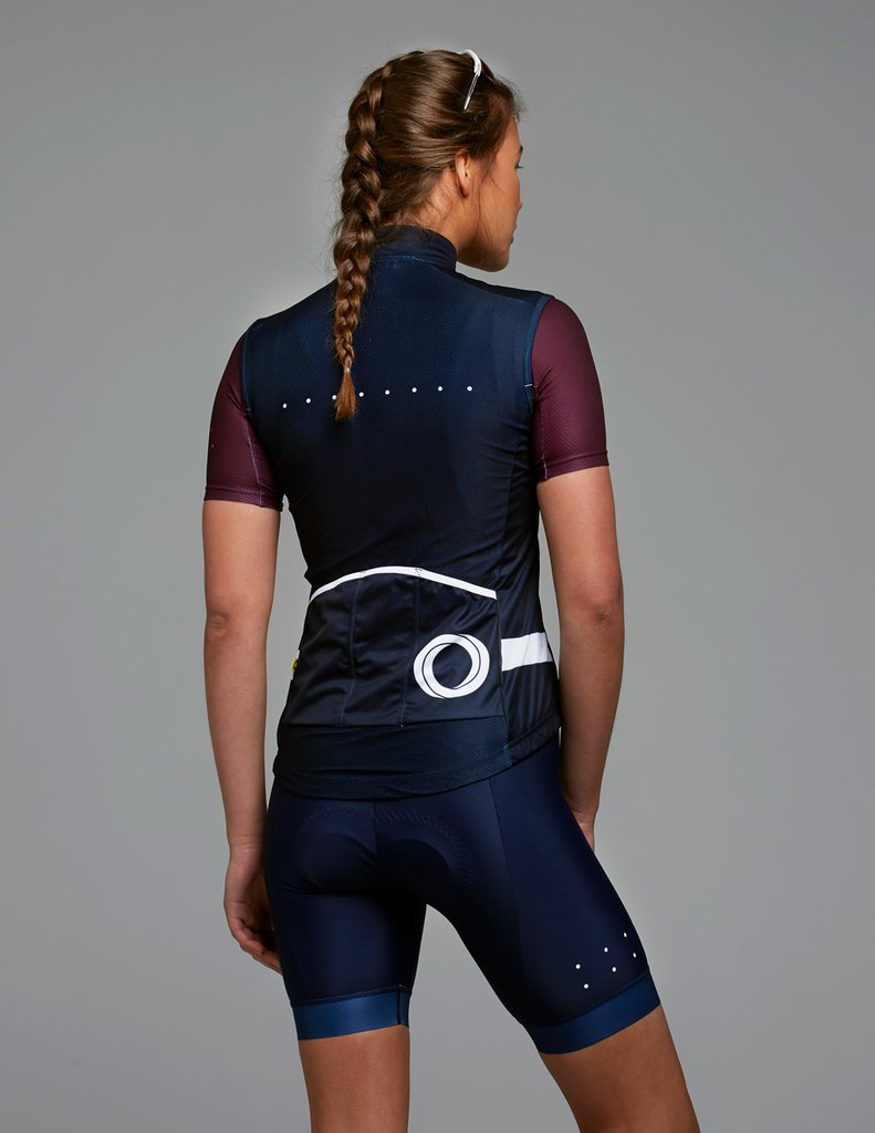 Pedla Wind Cheater Womens Cycling Gilet Melbourne Bicycles