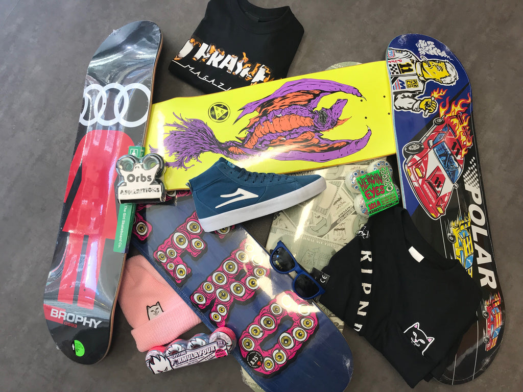 New In From Lakai | Polar | Ripndip | Lovenskate | Welcome | Zero | Girl & More