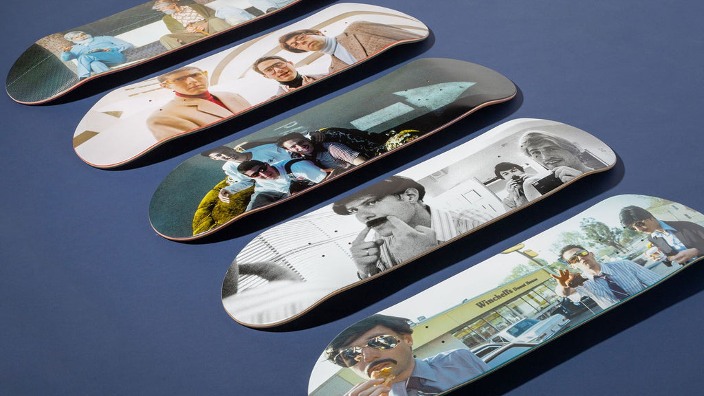 Girl Skateboards Beastie Boys X Spike Jones Skateboard Deck Series