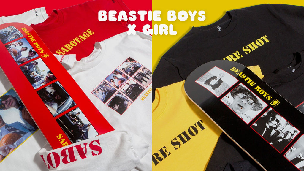 Girl Skateboards X Beastie Boys