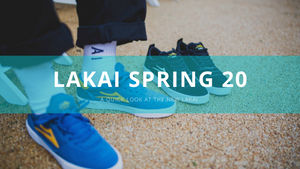 A Quick Look at Lakai Spring 20 arriving next week...