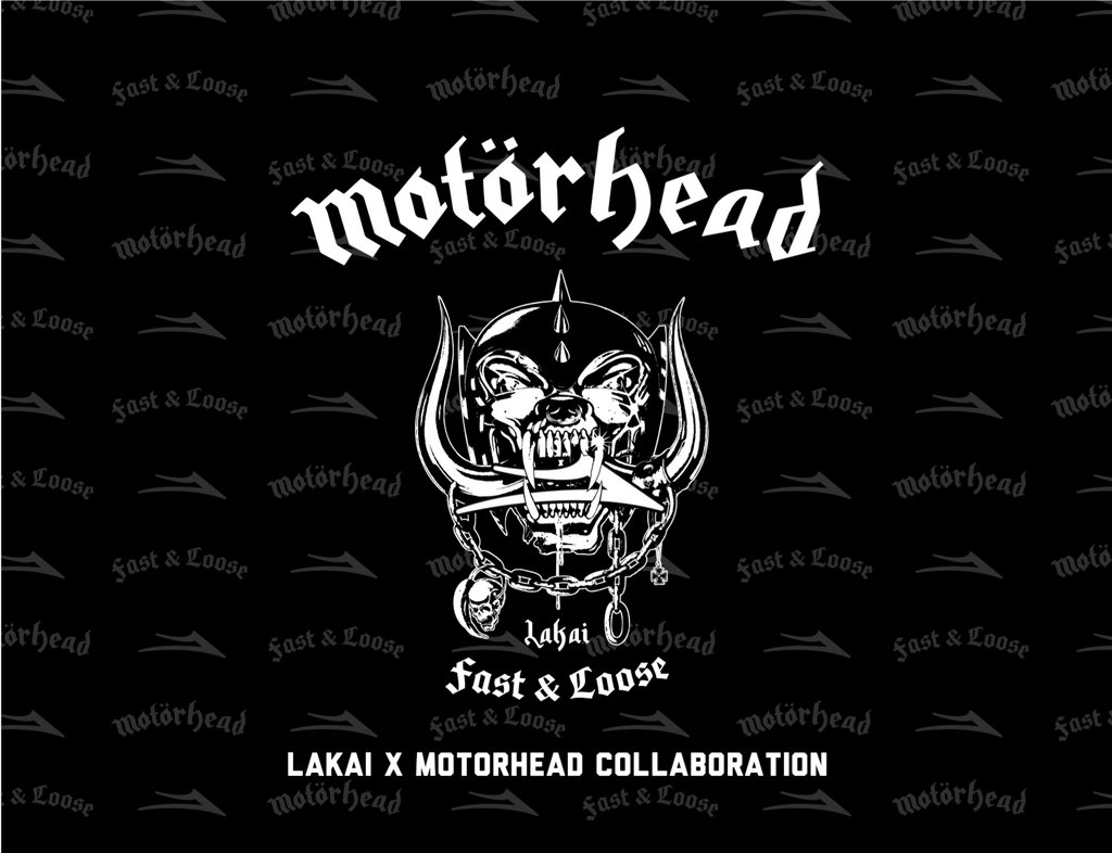 Motorhead x Lakai Collaboration