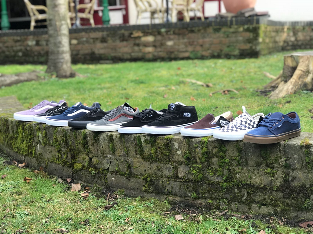 OFF THE WALL With Vans PRO Skate Shoes at Lariatt Skate Store