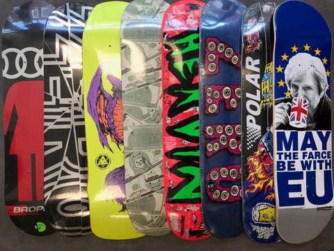 SKATEBOARD DECKS AT LARIATT