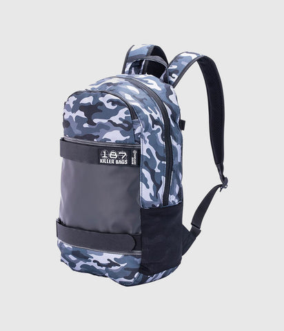 187 Killer Standard Issue Backpack Charcoal Camo