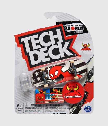 Tech Deck Toy Machine Vice Stripes Monster Fingerboard