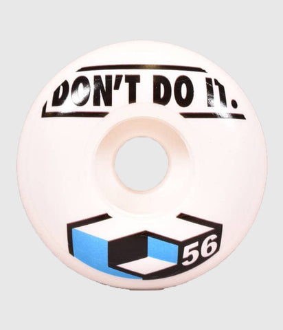 Consolidated Don't Do It Skateboard Wheels 56mm