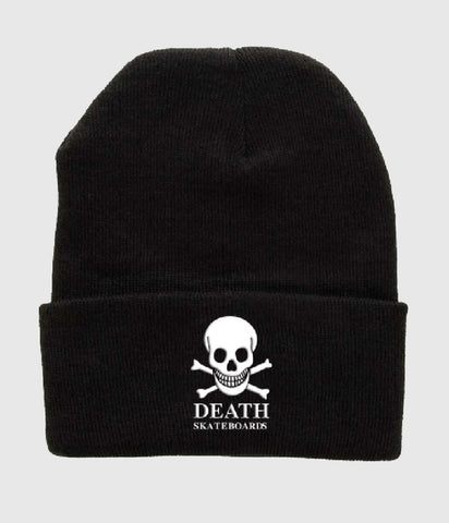 Death Skateboards OG Skull Beanie Black
