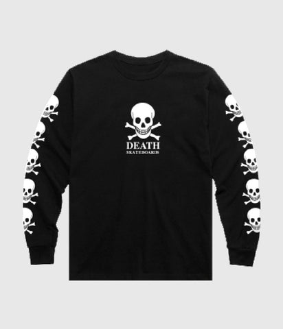 Death Skateboards OG Skull Longsleeve T-Shirt Black
