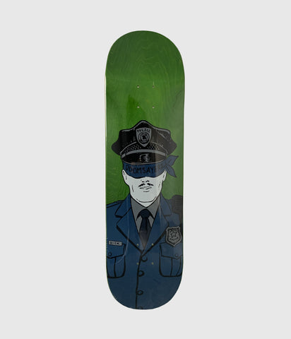 Doomsayers Club Corp Cop Skateboard Deck 8.75""