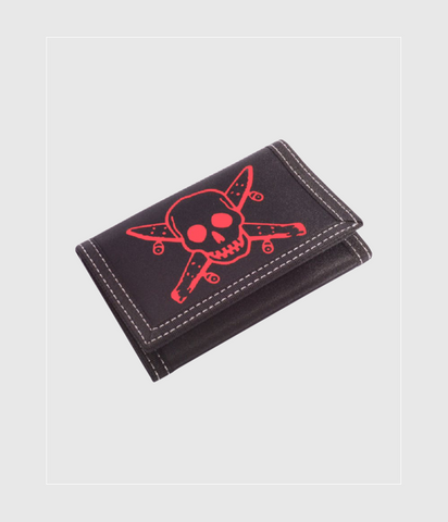 Fourstar Pirate Wallet Black