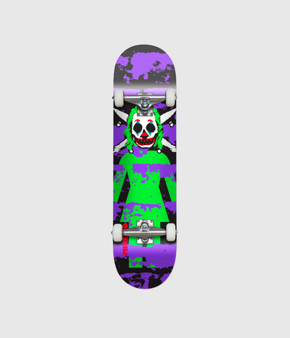 Girl Skateboards Clown Pirate Complete Skateboard 7.875""