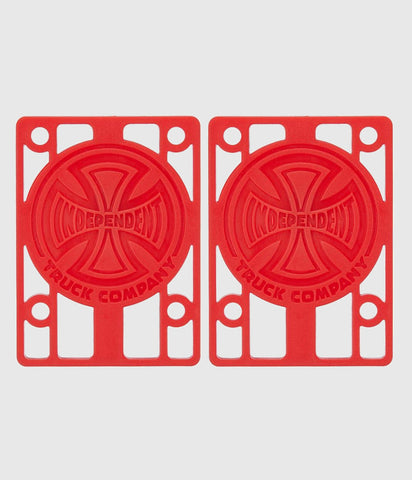 Independent Riser Pads Red 1/8""