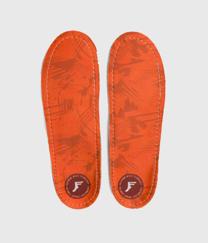 Footprint Kingfoam Orthotic Insole Orange Camo