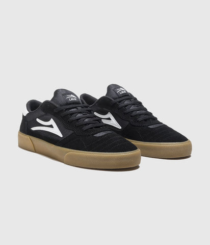 Lakai Cambridge Skate Shoes Black/Gum Suede