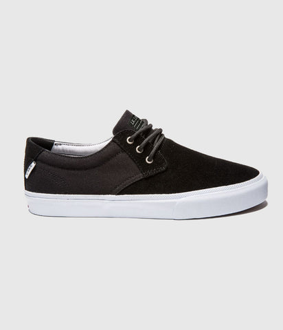 Lakai Daly Skate Shoes Black Suede