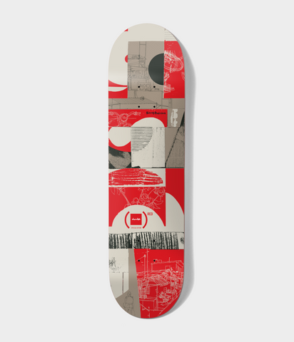 Chocolate Skateboards Kenny Anderson (RED) Deck 8""