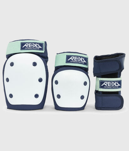 REKD Heavy Duty Triple Pad Set Blue/Mint