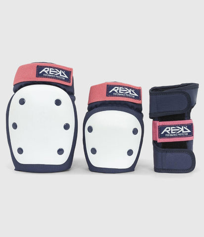 REKD Heavy Duty Triple Pad Set Blue/Pink