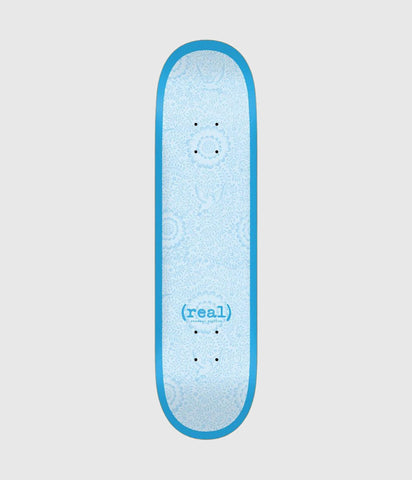Real Skateboards Flowers Skateboard Deck 7.75""