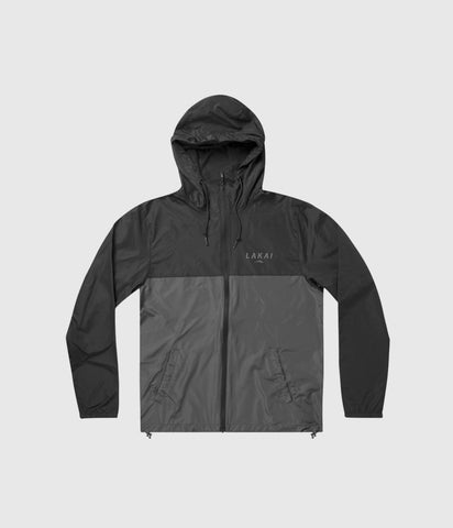 Lakai Stacked Windbreaker Black / Grey