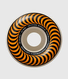 Spitfire Formula Four 99DU Classics Orange Skateboard Wheel 53mm