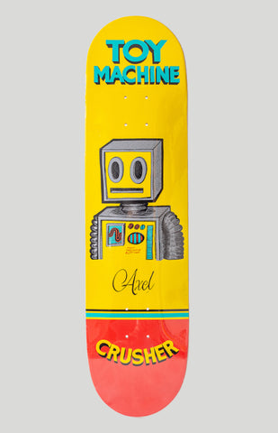 Toy Machine Axel Pen N Ink Skateboard Deck 8""