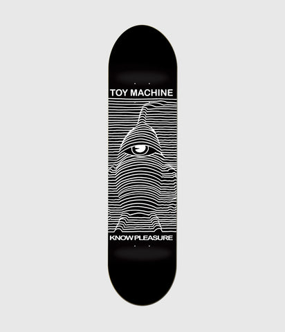Toy Machine Toy Division Skateboard Deck 8.5""