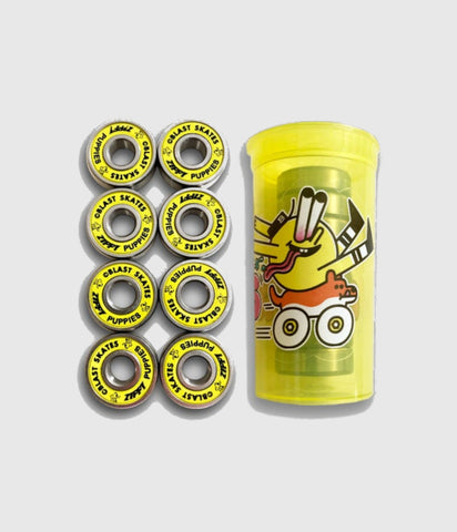 "Blast Skates ""Zippy Puppies"" Bearings"