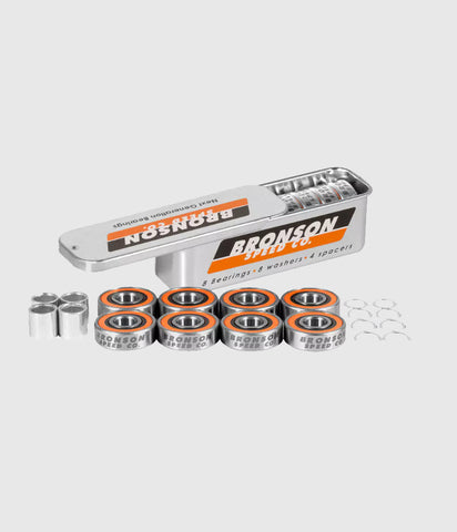 Bronson G3 Speed rated bearings