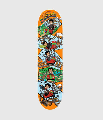 Consolidated David Sanchez Rollercoaster Skateboard deck 8.25""