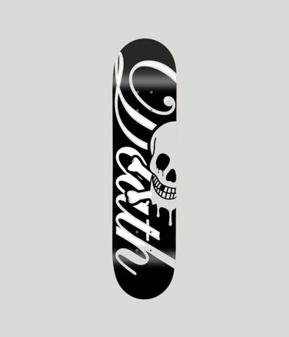 Death Skateboards Script Life Skateboard Deck 8""