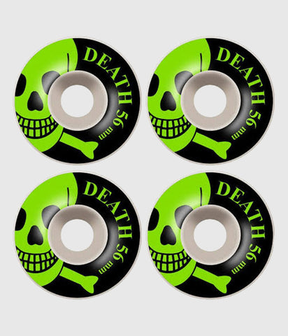 Death Skateboards Skulls 56mm Skateboard Wheels