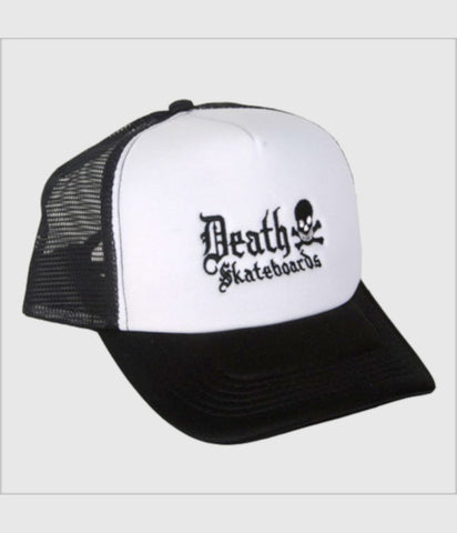 Death Skateboards Cap Snapback - Black