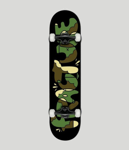 Fracture Skateboards x YEH COOL Camo Complete Skateboard 8.0""