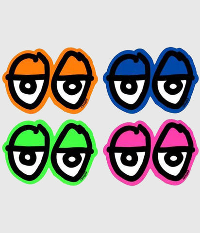 Krooked Eyes Sticker (Various colours)