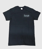 Lariatt Skate Shop T-Shirt Black (*REFLECTIVE EMBROIDERY*)