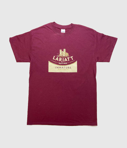 Lariatt City T-Shirt Burgundy