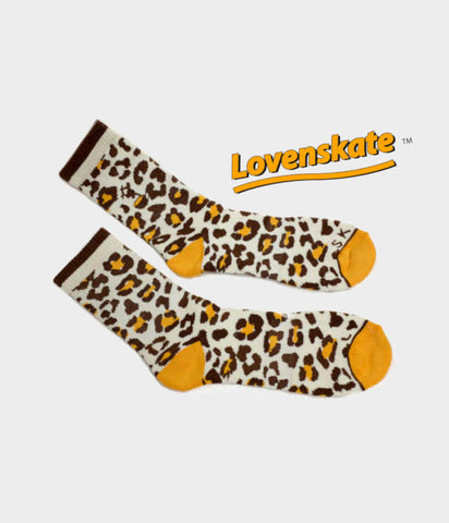 Lovenskate Master Of Camo Leopard Socks