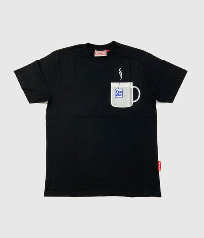 Lovenskate 'Tea-Shirt' Pocket Short Sleeve Tee Black