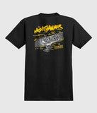 Anti hero Grimple Night hammer T-Shirt Black