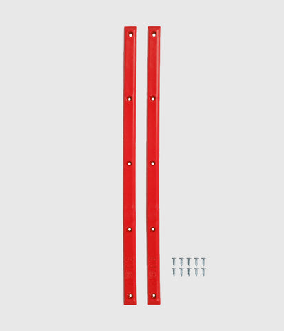 Pig Skateboard Rails - Red
