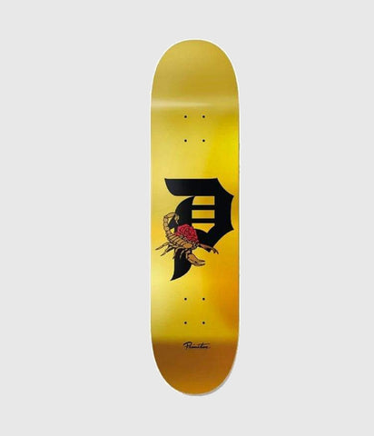 Primitive Skateboards Team Dirty P Scorpion skateboard Deck 8.5""