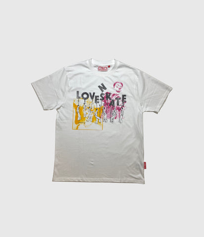 "Lovenskate ""Side Show"" Tee White"