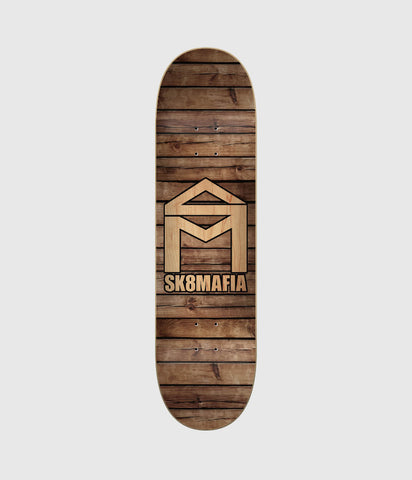 Sk8Mafia House Logo Wood Skateboard Deck 8.25""