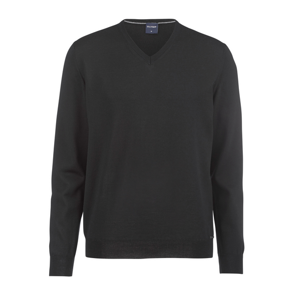 Olymp Pure Merino Wool V-Neck Jumper 0150/10