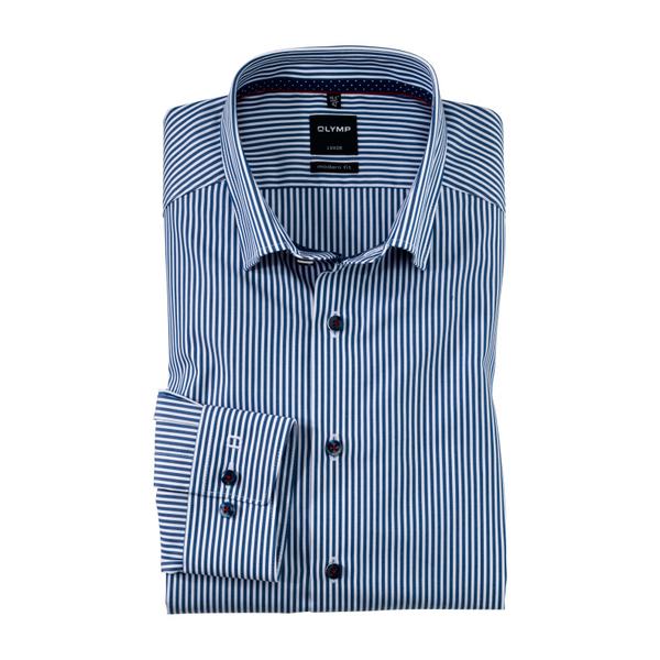 OLYMP Luxor Egyptian Cotton Non-Iron modern fit, Under button-down Shirt 1282/18