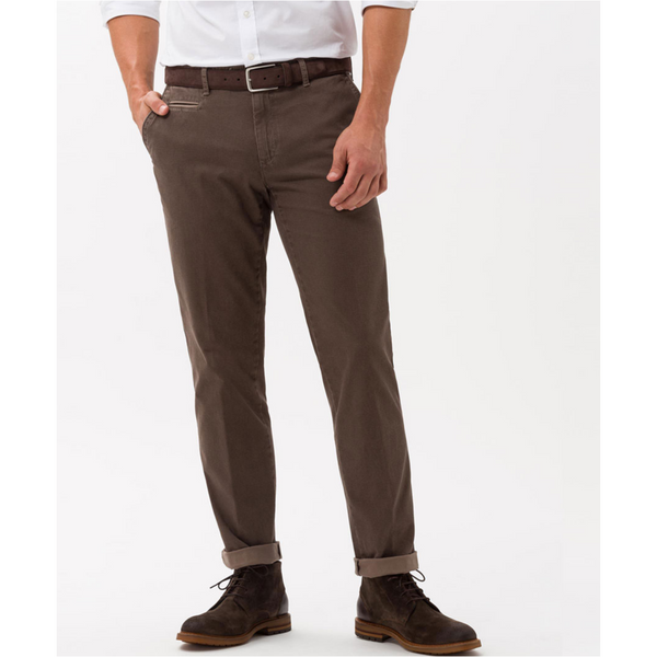 Brax Finest Pima Cotton Chinos Everest C 83-1447 - Nut